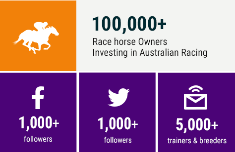 100,000 Race horse Owners Investing in Australian Racing
